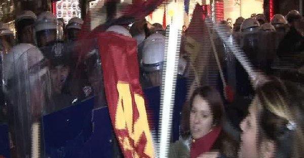 Polis, Taksim Meydanı'nda basın açıklamasına izin vermedi