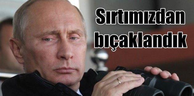 Putin: Sırtımızdan bıçaklandık, Uçak sınırdak uzakta vuruldu