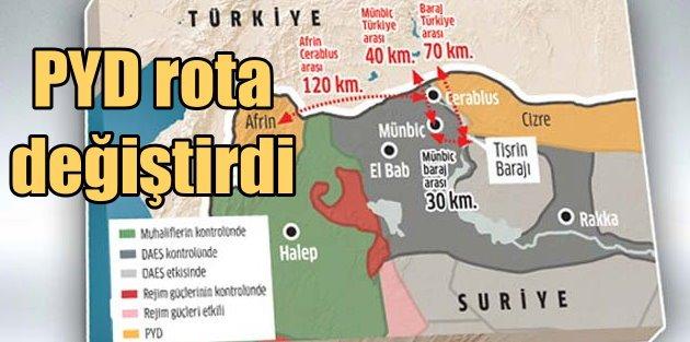 PYD - PKK sınırda rota değiştirdi; Ankara'yı test ediyorlar