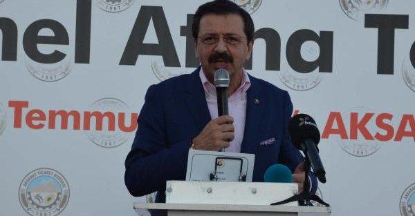 Rifat Hisarcıklıoğlu:...