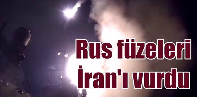 Rus füzeleri Suriye yerine İranı vurdu