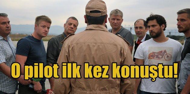 Rus pilot Lazkiyede konuştu: Telsiz uyarısı almadık