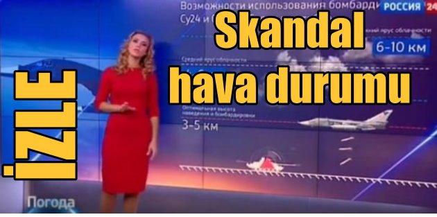 Rus TVsinde Suriye skandalı: Bombalamaya uygun