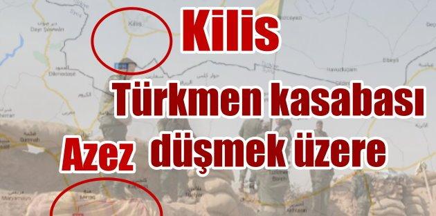 Rusya, İran destekli YPG'li töreristler Tel Rıfat önlerinde