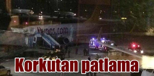 Sabiha Gökçen Havalimanı'nda patlama; 2 yaralı var
