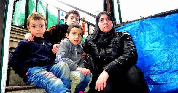 Şam'da eşi öldürülünce 3 çocuğu ile İstanbul'a gelen Suriyeli kadının çaresizliği