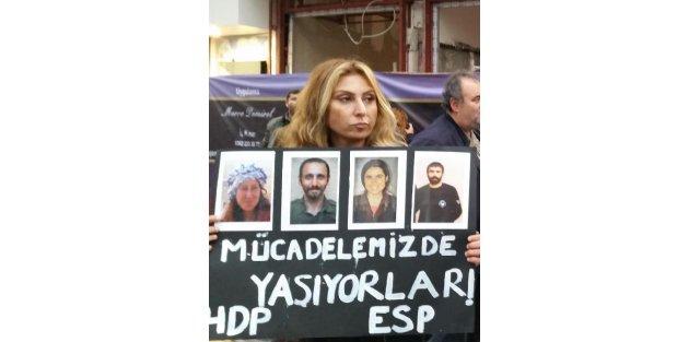 Samsun'da Hdp'lilerden Kobani Eylemi