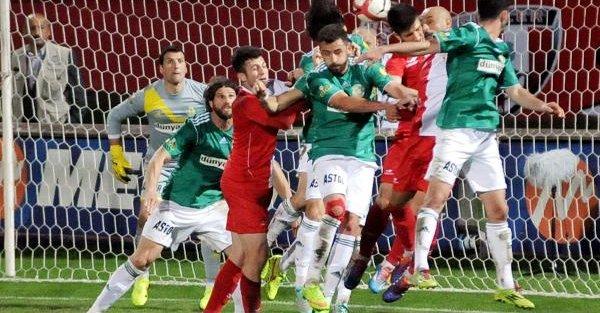 Samsunspor-şanlıurfaspor: 0-0