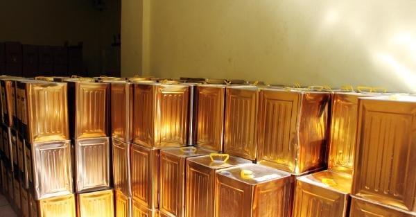Şanliurfa'da 16 Ton 240 Kilo Glikoz Şurubu Ele Geçirildi