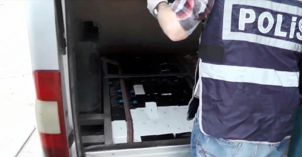 Şanliurfa'da Kaçak Cep Telefonu Operasyonu