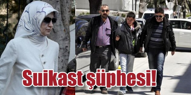 Sare Davutoğluna Afyonda suikast şüphesi