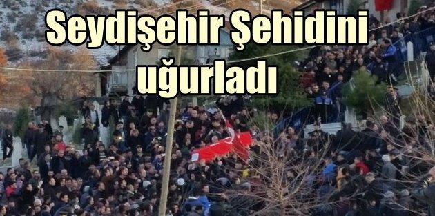 Seydişehir Şehit Yüzbaşı için yürüdü: Bordo Boreli'ye son göre