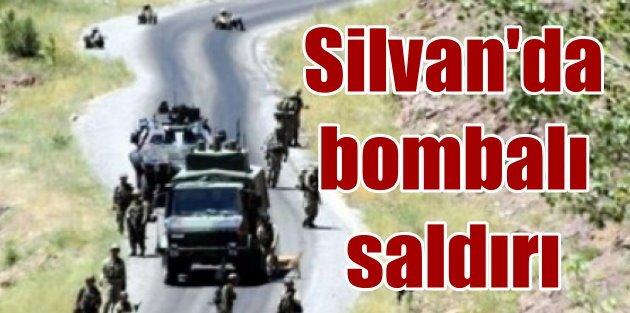 Silvanda askere bombalı saldırı: Yine uzaktan kalleşlik