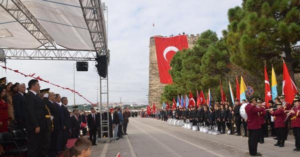Sinop'ta 91'inci Yıl Coşkusu