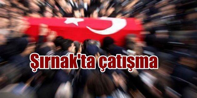 Şırnak'ta silahlı saldırı, 1 uzman çavuş şehit