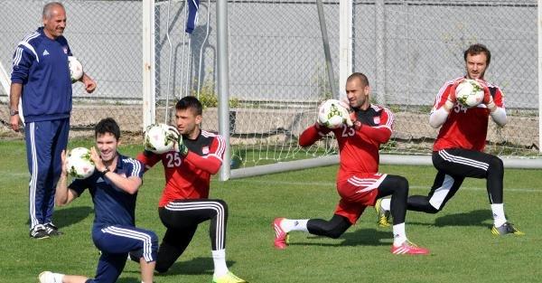 Sivasspor'da Tempolu Çalişma