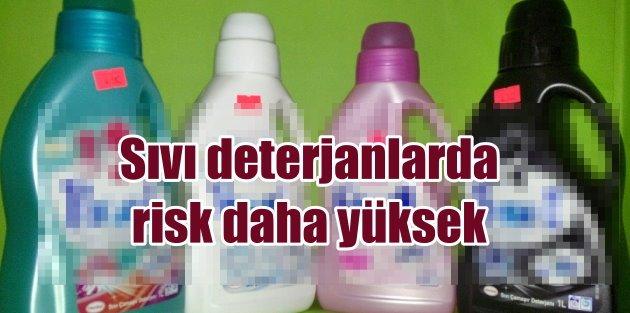 Sıvı deterjanlardaki...