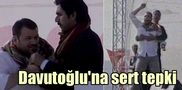 Söğüt'te Davutoğluda şok protesto