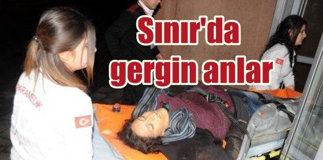 Suriyeden Türkiyeye kaçak geçmeye çalışan kadın öldürüldü