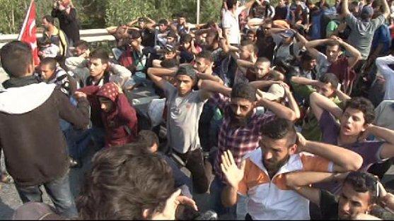 Suriyeli Sığınmacılara Polis Engeli