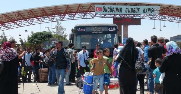 Suriyeliler bayram için ülkesine gidiyor