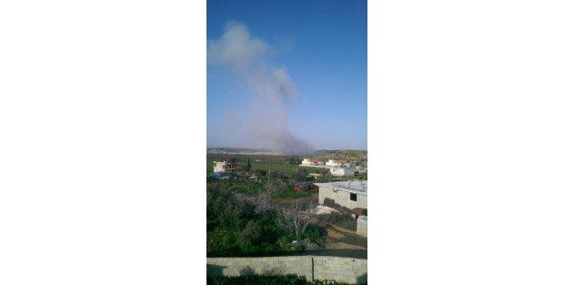 Suriye'nin Atme Kasabası bombalandı