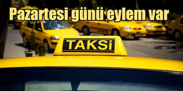 Taksi Çağrı Merkezi isyanı, İstanbullu taksiciler pazartesi günü eylemde
