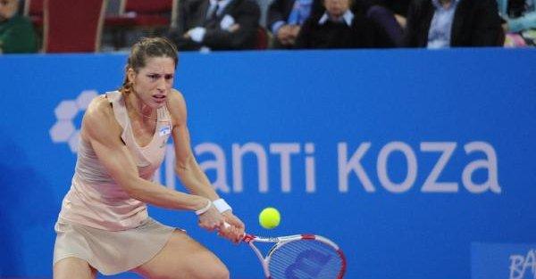 Teniste Garanti Koza Wta Şampiyonlarturnuvasi'nda Finalin Adı Belli Oldu