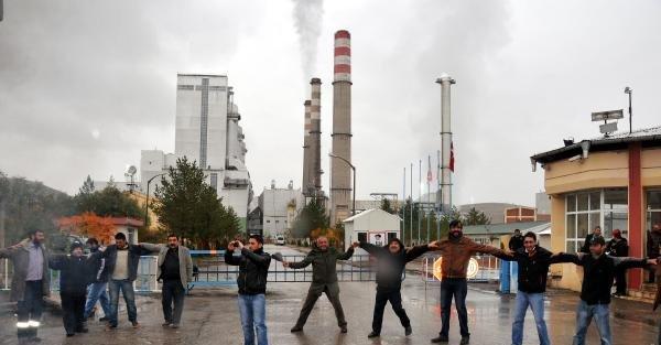 Termik Santral İle Belediye Arasındaki Su Anlaşmazlığının Faturası İşçilere Çikti