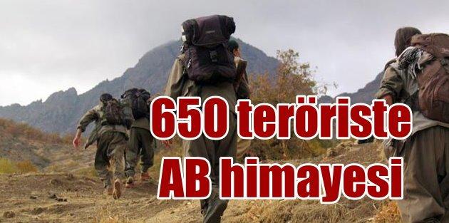 Terör örgütü PKKlılar AB koruması altında