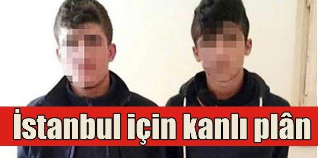 Terör örgütünün İstanbul için katliam planı çökertildi