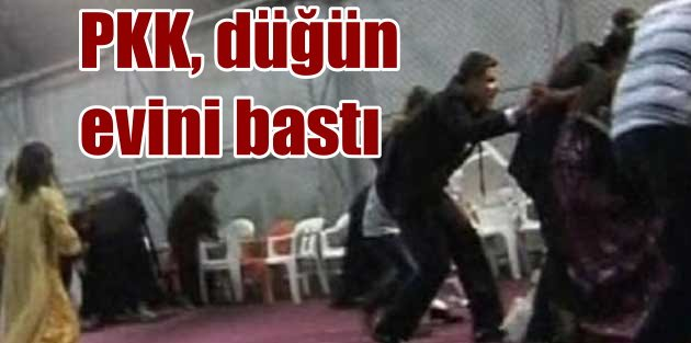Teröristler Adana'da düğünü bastı: 1 ölü, 1 yaralı var