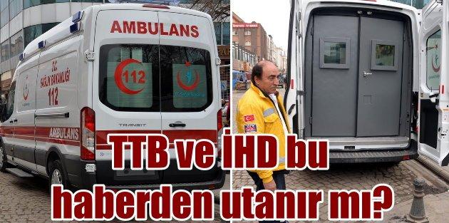 Teröristler saldırınca böyle oldu, Dünyanın ilk zırhlı ambulansı