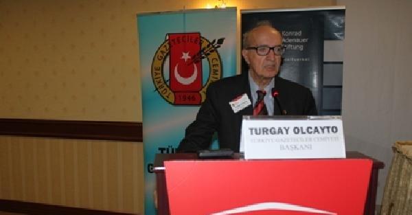 Tgc Başkanı Turgay Olcayto: Akreditasyon, Gazetecilik Faaliyetini Engelliyor