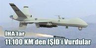 11.100 KM'den IŞİD'i Vurdular