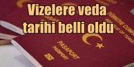 Avrupa'ya vizesiz seyahat ne zaman? Kritik tarih belli oldu