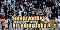 Beşiktaş şampiyonluğa adım adım yaklaşıyor