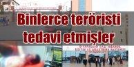 Böyle ihanet görülmedi: Binlerce PKK'lı terörist tedavi edilmiş