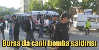 Bursa'yı kana bulayacaktı: Canlı bombayla Ulu Camii önünde katliam girişimi
