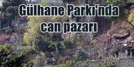 Gülhane Parkı'nda can pazarı; Duvar çöktü 7 kişi kurtarıldı
