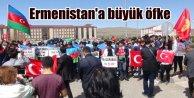 Kars'tan Azerbaycan'ın Karabağ operasyonuna destek mitingi