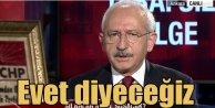 Kılıçdaroğlu dokunulmazlık kararını açıkladı; Evet diyeceğiz