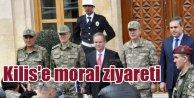 Kilis'e moral ziyareti, TSK Kilis'te ek önlemler alacak