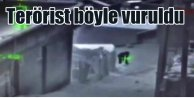 PKK#039;lı terörist böyle vuruldu
