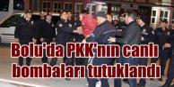 PKK'nın 4 canlı bombası Bolu'da tutuklandı