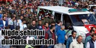 Şehit Astsubay Yasin Tekin#039;i 15 kişi uğurladı