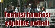 Şişli'de patlama; Katı atık merkezinde ses bombası patladı