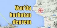 Son dakika Van'da deprem; Van bu kez 3.3 ile sallandı