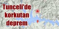 Tunceli Çemişgezek'te deprem; 4.0