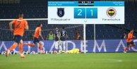 Başakşehir Fenerbahçe maçı: Fener şoke oldu: 2 - 1